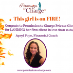 Client Success Story: Apryl Pope